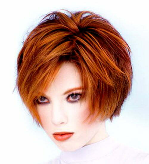 Hairstyles For Short Hair Length : Ear Length Layered Bob newhairstylesformen2014.com