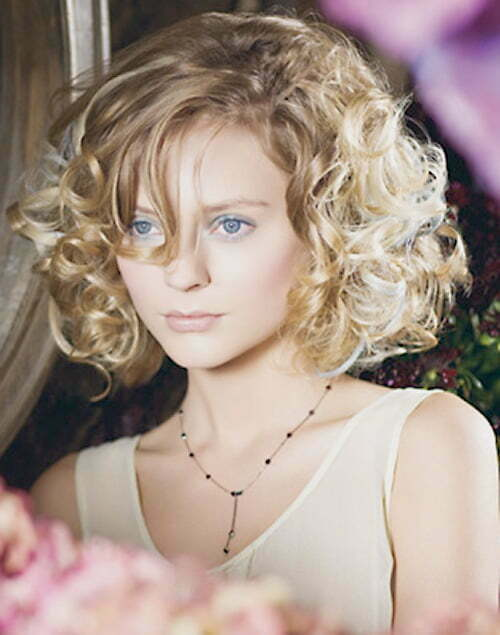 Haircut for short curly hair for girls