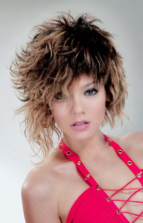 Short curly hairstyles 2013 for women