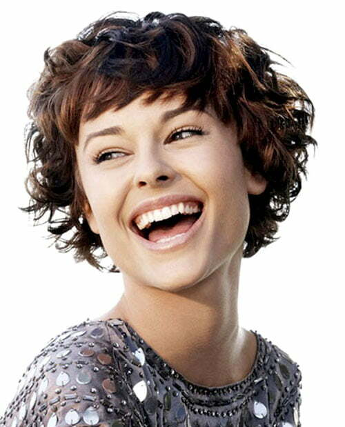 Sensational 20 Best Short Curly Haircut For Women Short Hairstyles 2016 Hairstyles For Women Draintrainus