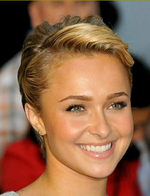 Hayden panettiere short hair pictures