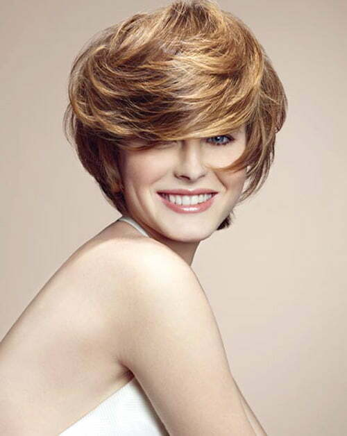Cute short hair color trends 2013