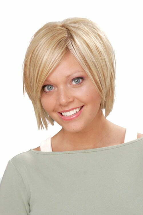 Short Haircuts Round Face Fine Hair - Best Short Hair Styles