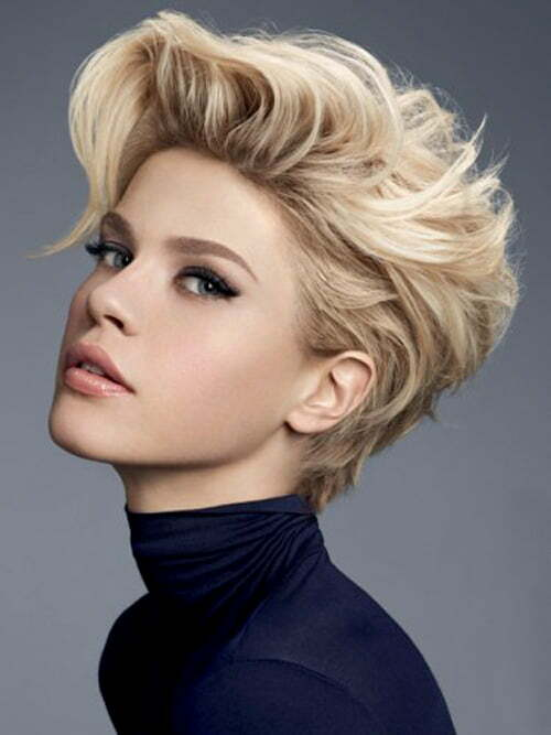short haircut styles 2013 25 pictures of trendy haircuts 2012 2013 6103 | Short high volume hairstyles