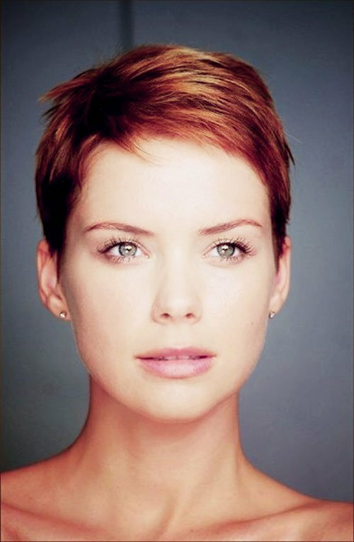 Best short pixie haircut