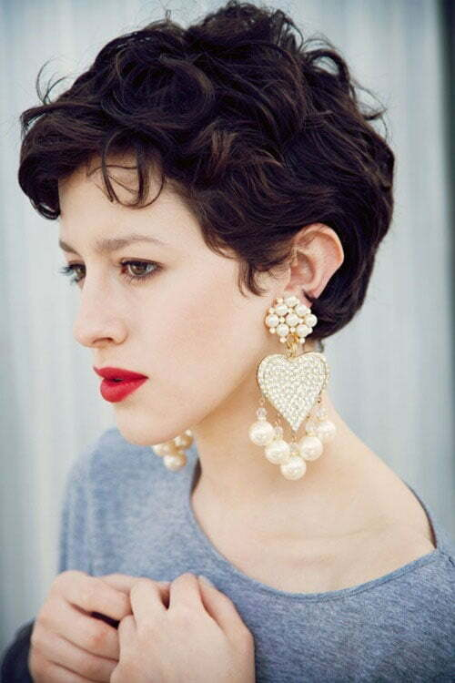 20 Best Short Curly Haircut for Women | Short Hairstyles 2015 - 2016