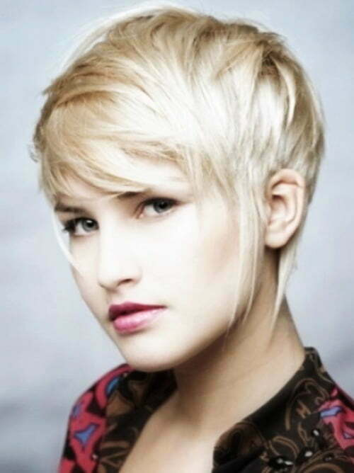 Short pixie haircuts for women 2012