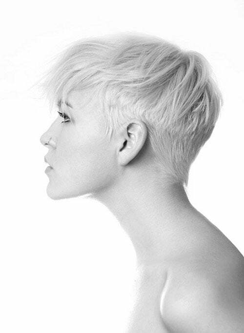 Very short haircuts for girls