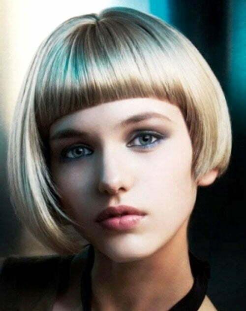 Asymmetrical haircuts for short hair