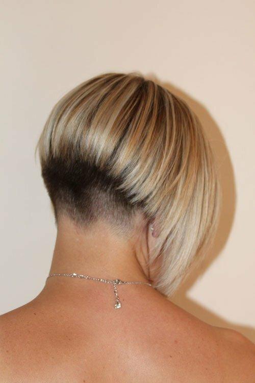 Rear View Short Hairstyles - Best Short Hair Styles
