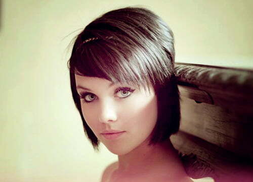 20 Short Straight Hair For Women 2012