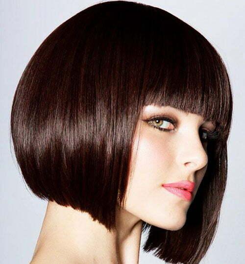 Pleasing Short Straight Haircuts Short Hairstyles 2016 2017 Most Short Hairstyles Gunalazisus