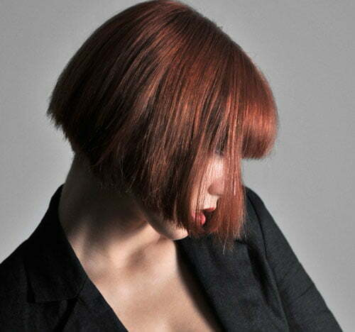 Hairstyles for straight red hair