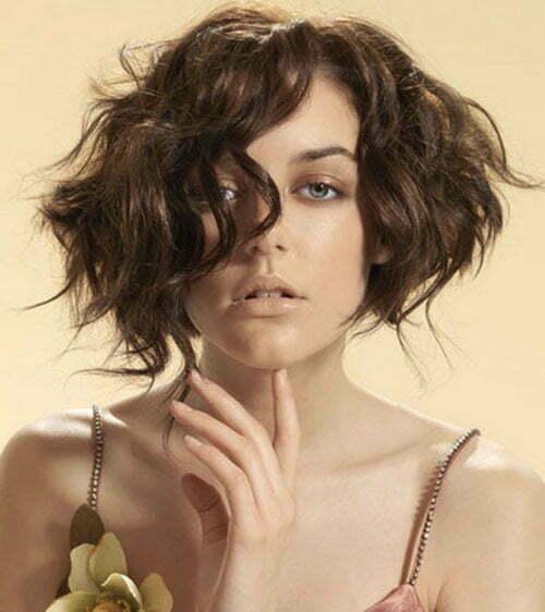 Astounding 35 Short Wavy Hair 2012 2013 Short Hairstyles 2016 2017 Hairstyles For Women Draintrainus