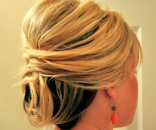 Updo wedding hairstyles for short length hair