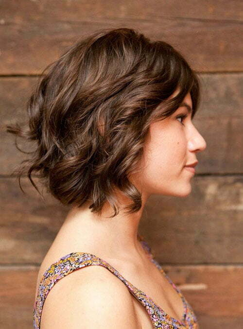 Short soft wavy hairstyles 2012