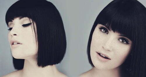 Hairstyles for short straight black hair