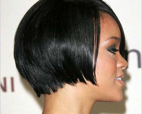 Celebrity short hairstyles for black women