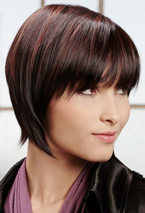 Pictures of short razor haircuts for women