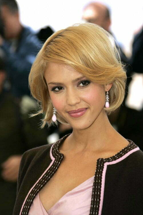 Trendy celebrity short hairstyles 2012