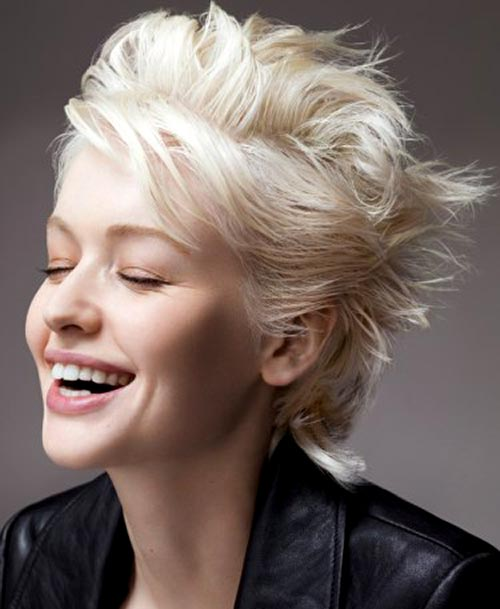 Short choppy bob hairstyles for women