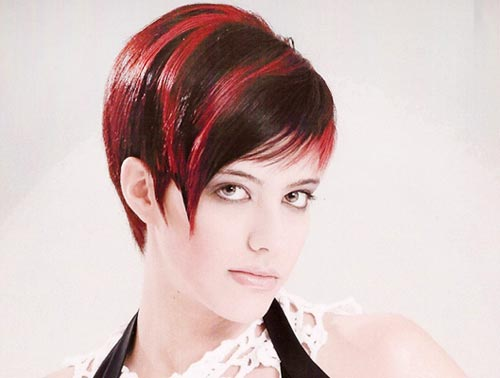 Cute hairstyles and color for short hair