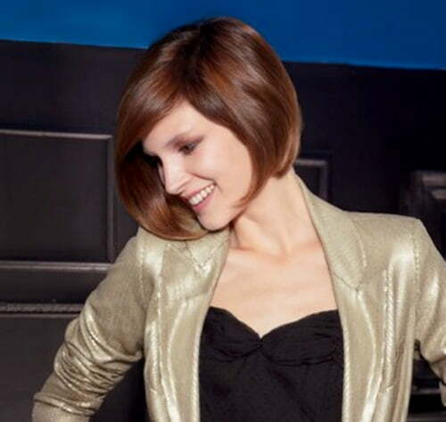 Best short hairstyles for square faces 2013