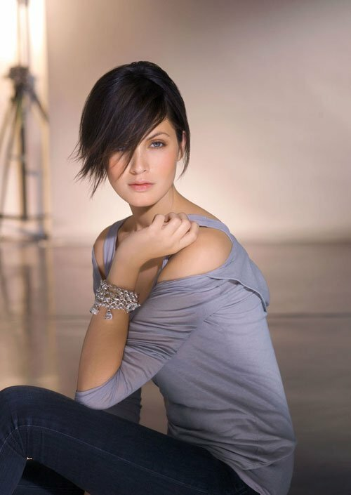 Hairstyle ideas for short hair women