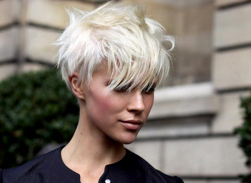 Cool 1000 Images About Short Hairstyles On Pinterest Undercut Pixie Short Hairstyles Gunalazisus