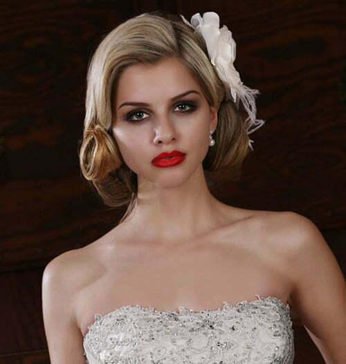 Magnificent Wedding Hairstyles For Short Hair 2012 2013 Short Hairstyles Short Hairstyles Gunalazisus