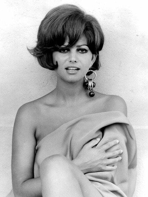 Claudia Cardinale short hair pictures