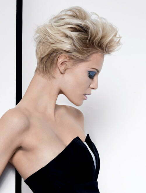 Short nape haircuts for women