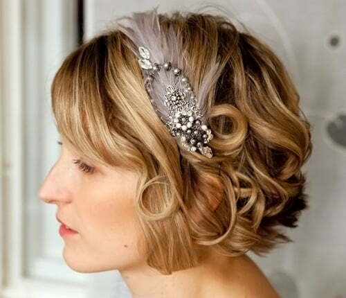 Remarkable Wedding Hairstyles For Short Hair 2012 2013 Short Hairstyles Hairstyles For Men Maxibearus