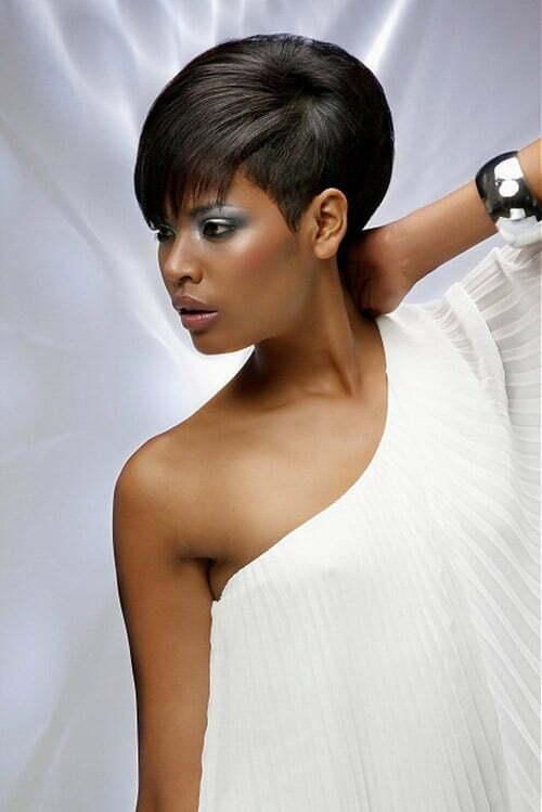 Excellent 30 Trendy Short Hair For 2012 2013 Short Hairstyles 2016 2017 Short Hairstyles For Black Women Fulllsitofus