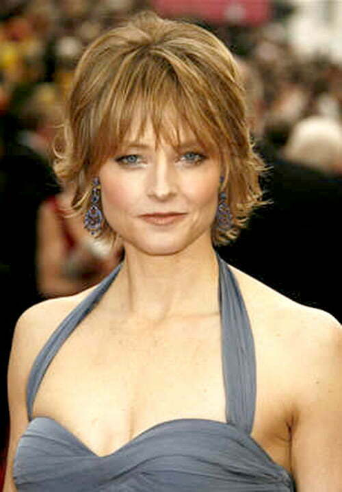 Jodie Foster short hairstyle photo