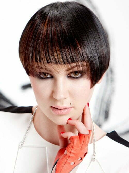 Short hair color trends fall 2012 - 2013