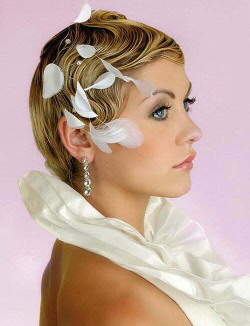 Pleasant 25 Best Wedding Hairstyles For Short Hair 2012 2013 Short Hairstyles For Men Maxibearus