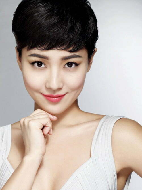 Short pixie haircuts for asian women