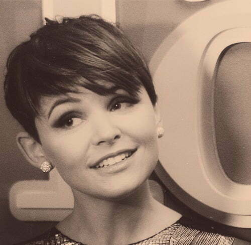 Ginnifer Goodwin short pixie haircut