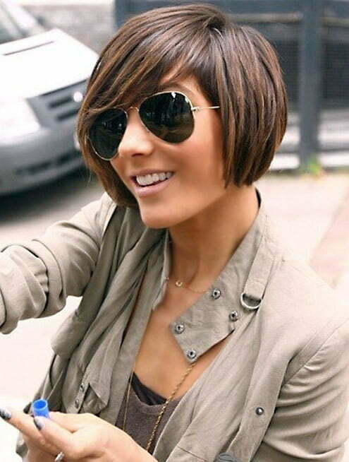 Trendy short asymmetrical haircuts 2013