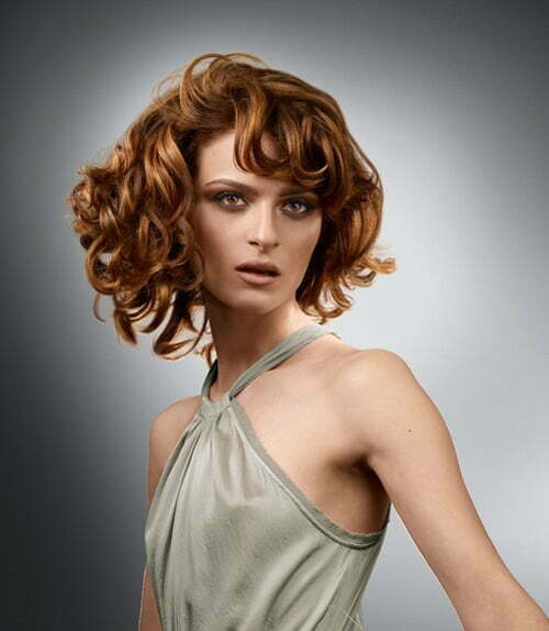 Hairstyles for curly hair fall winter 2013