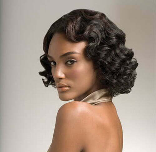 Hair styles for curly hair for black women