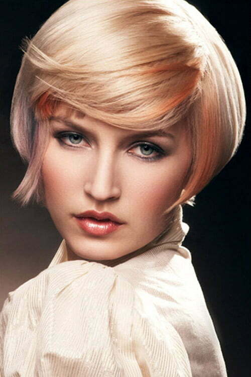 Trends for short hair color fall 2013