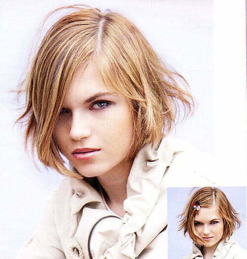 The short-haired models 2012 with new trends.