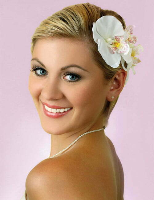 25 Best Wedding Hairstyles For Short Hair 2012