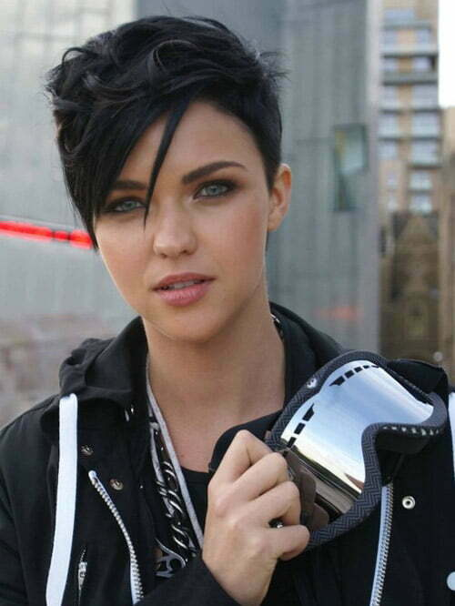 Ruby Rose short haircut photo