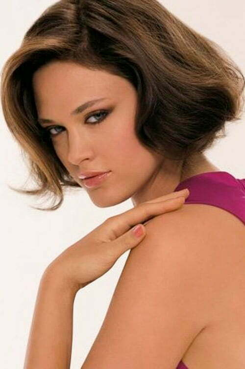 Cute short haircuts for dark hair