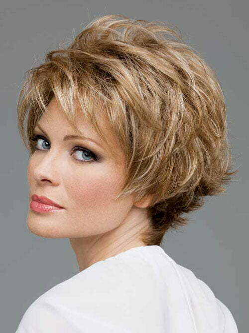 Short Hair Styles Mature Woman 7