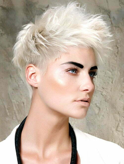 Trendy Short Haircut with Thin Hair