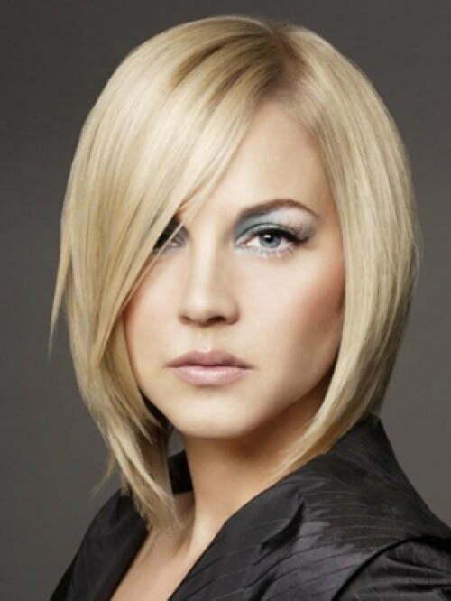 Haircuts for short straight blonde hair